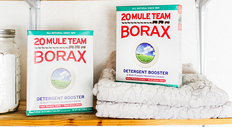 is borax laundry detergent
